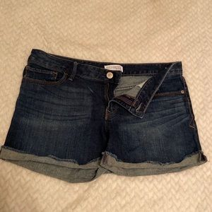 Express Dark Wash Jean Short- 10